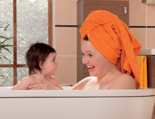 Relaxing Bath with Essential Oils