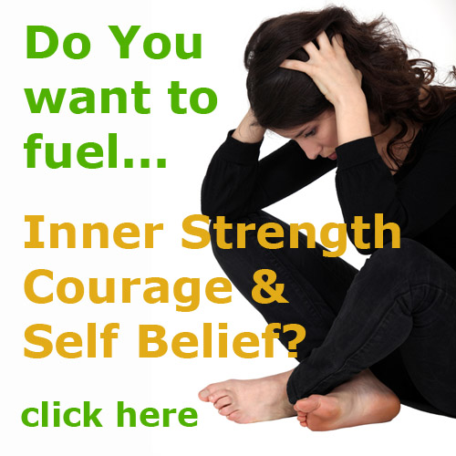 inner strength courage self belief with essential oils