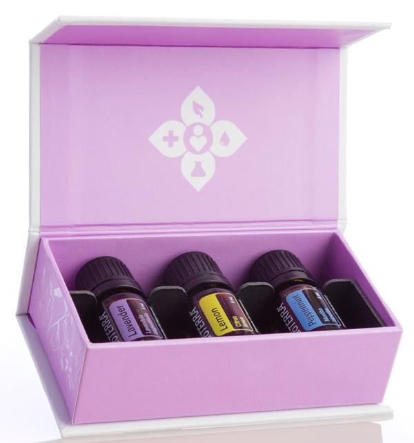 Trio Essential Oils Kit