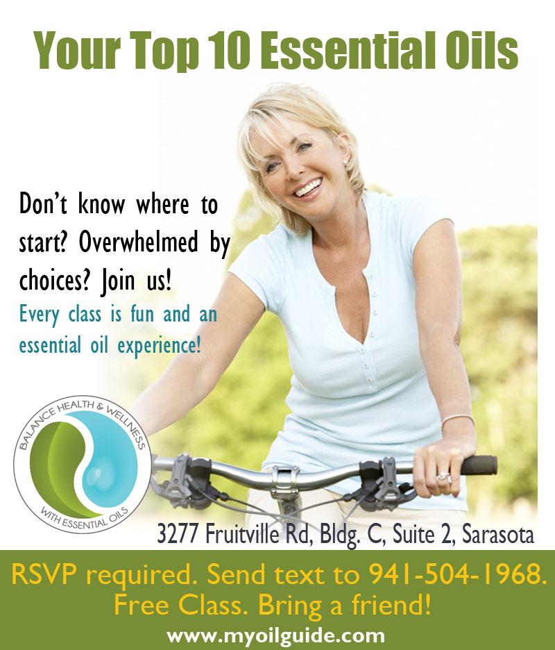 Essential Oils Class Sarasota Florida