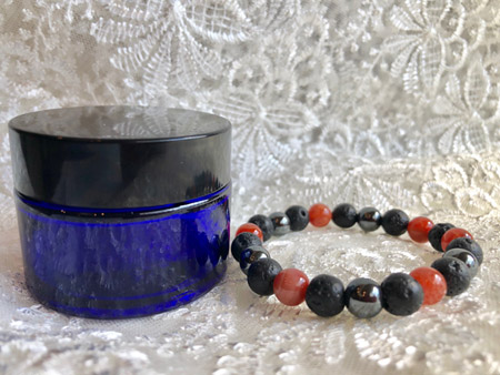 Yoga Lotion & Bracelet