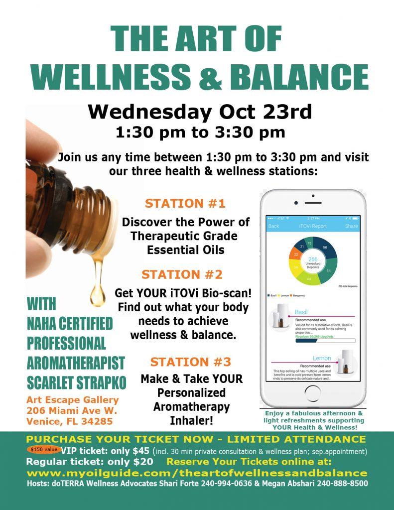 Health Event - The Art of Wellness & Balance