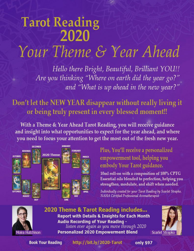 2020 Tarot Reading and Emotional Empowerment Blend