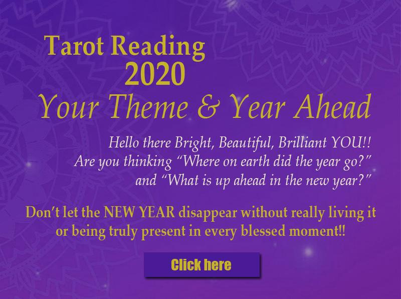 2020 Tarot Reading & Empowerment Blend