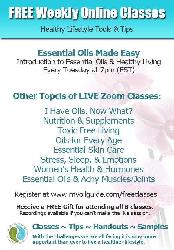 Free Essential Oils Classes