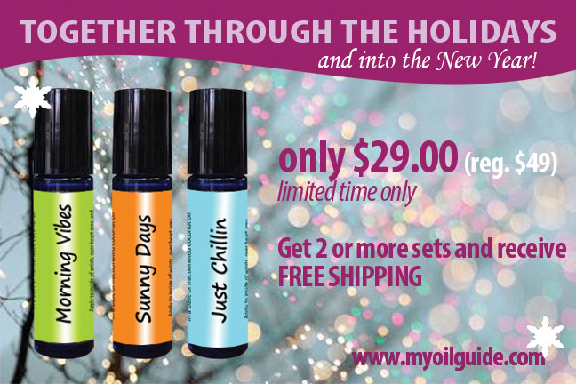 Together Holiday Trio Gift Set Essential Oil Blends